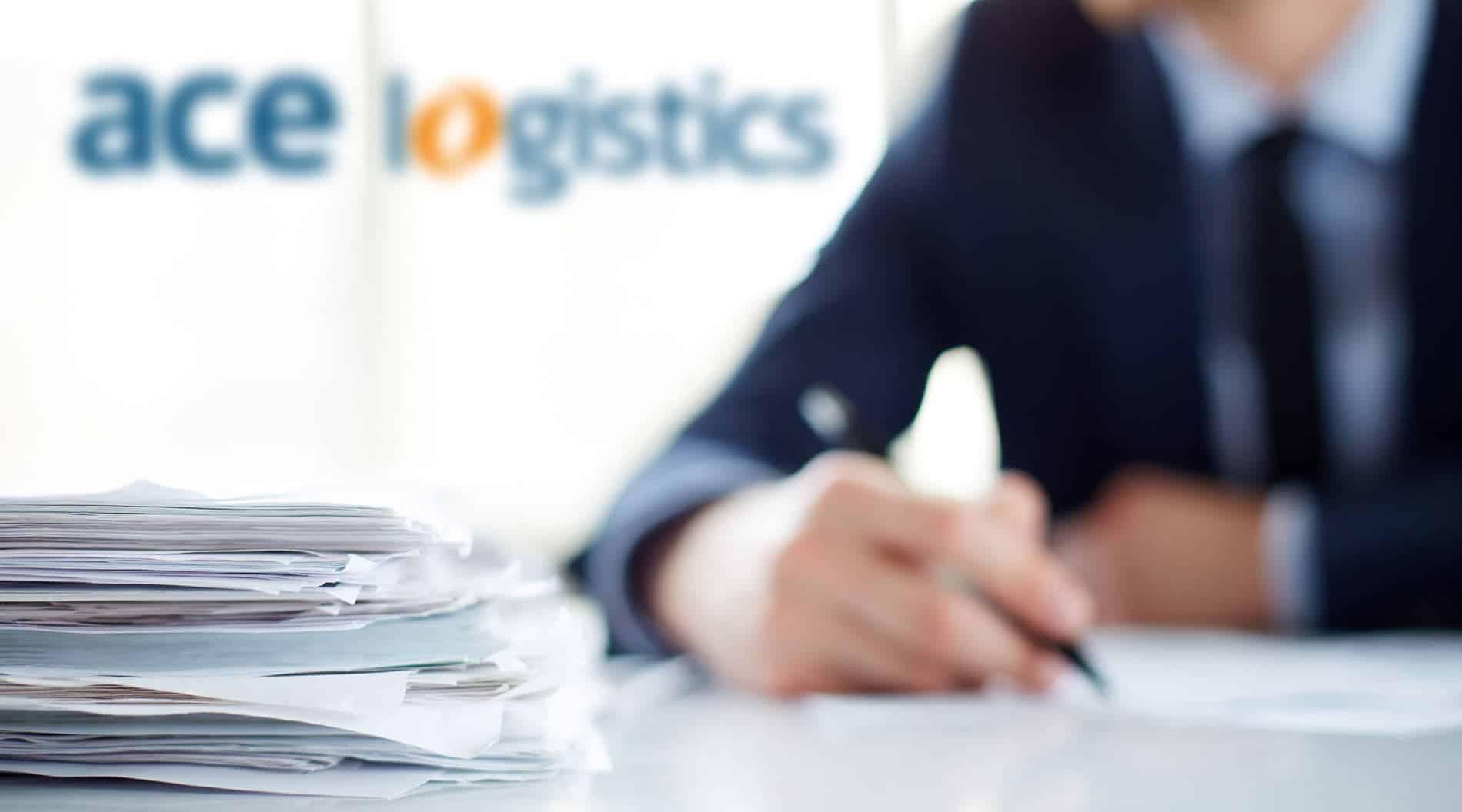 image for ACE logistics services.